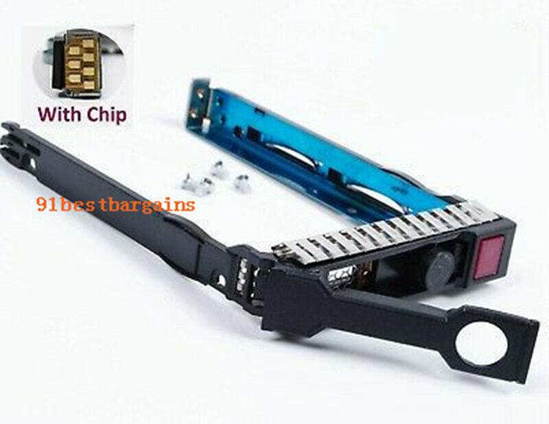 """For HP G8 G9 Gen8 2.5"""" 651687-001 SFF SAS SATA HDD Tray Caddy 651699-001 DL380p"""