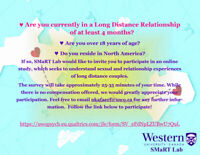 Long Distance Couples! We want to hear from you.