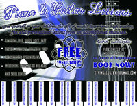 Piano & Guitar Lessons