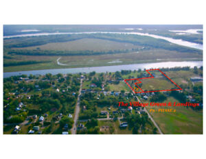 Six Home Building Lots Available in the Village of Gagetown