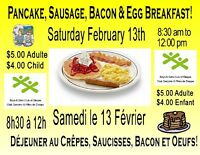 Community Breakfast at the Boys & Girls Club of Dieppe