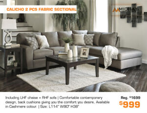 Best Deals of the Year on All Sectionals Now Get up to 50% OFF!