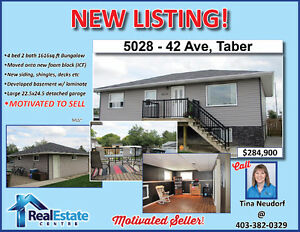 Good as New Bungalow in Taber! Sellers motivated to sell!