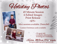 Christmas Photos (Full & mini sessions)