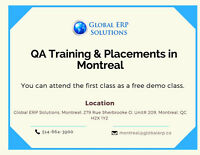 Software Testing Training & Placements in Montreal