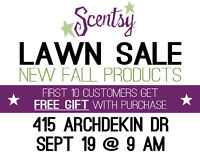 Scentsy Lawn Party ***FREE GIFT***