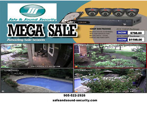 Professional HD-1080P Security Camera Package!