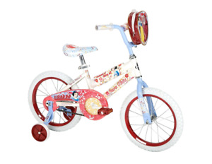 Brand New 12 inch Snow White Bicycle