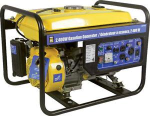 Power fist 2400w gas generator