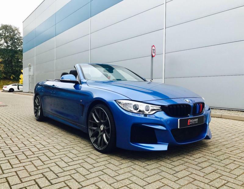 2014 14 reg bmw 420d m sport convertible autovogue m4 style body kit big spec in watford. Black Bedroom Furniture Sets. Home Design Ideas