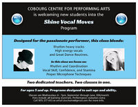 Vocal (Singing) Lessons, Singing and Dancing Classes, Cobourg