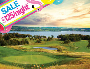 RICE LAKE Golf Cottages For Rent From $125/Night   KAWARTHAS