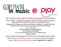 Grown in Music at Play Cafe