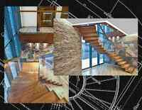 STAIRCASES HANDCRAFTED BY PACIFIC TIMBERWORKS