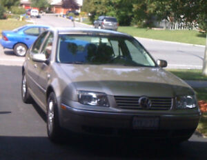 2005 VW Jetta in Wheat Gold with  Leather trim