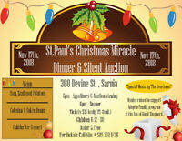 St. Paul's Christmas Miracle Dinner and Silent Auction