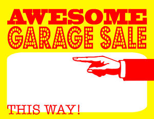 Gigantic Garage Sale - Vendor Space Available