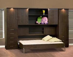Lit escamotable achetez ou vendez des lits et matelas dans grand montr al petites annonces - Mecanisme lit mural escamotable ...