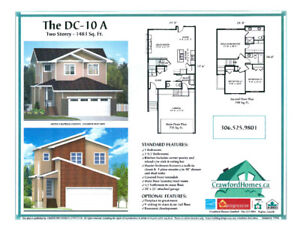 Brand New 2 story Harbour Landing Location Move in in March