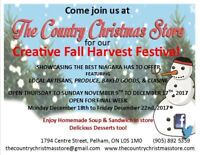 THE CREATIVE FALL HARVEST FESTIVAL STARTS SOON!!