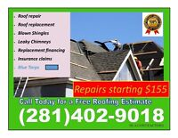ROOFING, ROOF REPAIRS, BLOWN SHINGLES