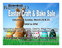 Brentwood Easter Craft and Bake Sale