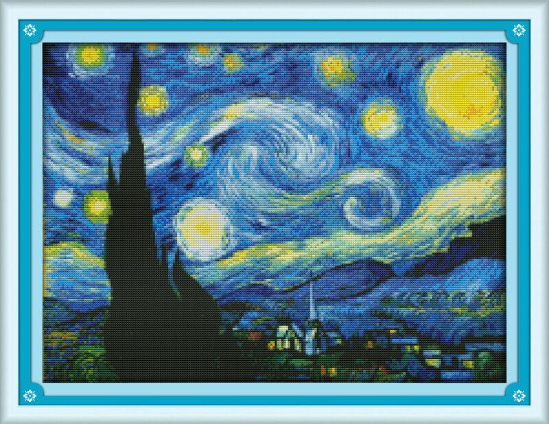 the starry night of van gogh disney