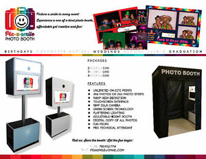 Pix-a-smile PHOTO BOOTH for all PARTY!!! AFFORDABLE & FUN!!! Edmonton Edmonton Area image 1