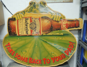 Budweiser  Tin Signs and mirrors