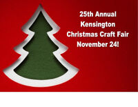 25th Annual Kensington Christmas Craft Fair