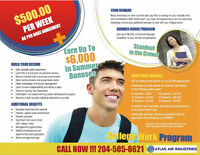 COLLEGE WORK PROGRAM FOR STUDENTS!