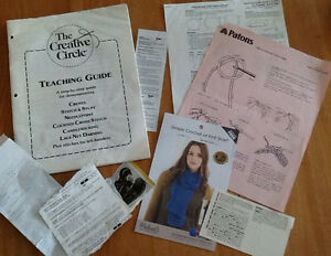 PATTERNS & NEEDLEWORK TEACHING GUIDE also FABRIC