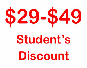 APPLE iPHONE 7 & 7 PLUS WITH APPLE WARRANTY (STUDENT'S DISCOUNT)