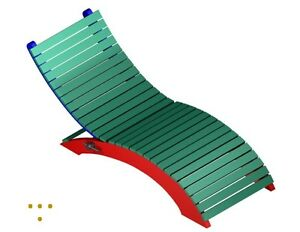 The ultimate Chaise Lounge Recliner outdoor DIY project St. John's Newfoundland image 3