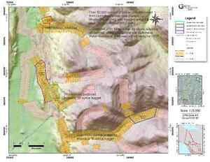 Placer claims in Livingstone Yukon District for sale or option