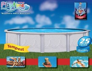 above ground swimming pool / pool   price includes the tax