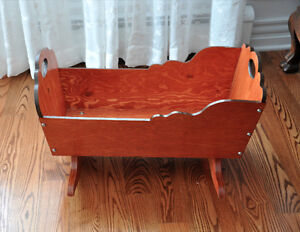 Handcrafted Cradle (For Dolls)