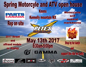 Pete's 2017 Motorcycle, Atv and Can am spyder openhouse