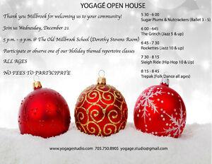 Yogagé Open House Peterborough Peterborough Area image 1