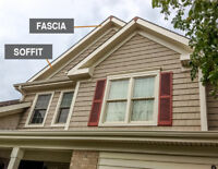Eavestrough, Siding, Fascia, Capping, Soffit