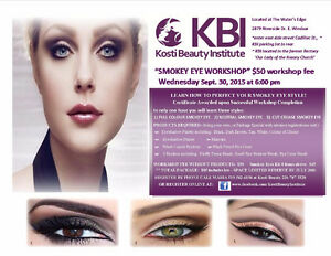 SMOKEY EYE MAKEUP WORKSHOP / LESSON & NEW LOOK Windsor Region Ontario image 6