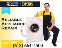 Appliances Repair & Installation / Washer Dryer Fridge Stove