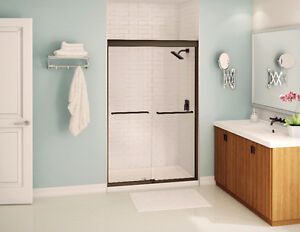 Maax Aura Sliding Shower Door