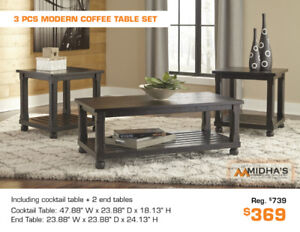 All Coffee Table Sets in Stock Now Big Discounts up to 50% OFF!