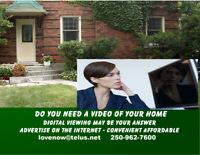 DIGITAL VIDEO OF YOUR HOME
