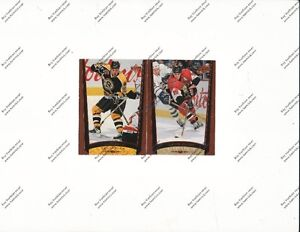 Numbered Hockey Cards