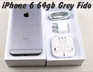 IPhone 6 64gb Space Grey with Fido  *** PICK UP ASAP ***