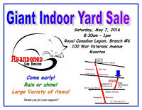 Giant Yard Sale - Fundraiser Abandoned Cat Rescue