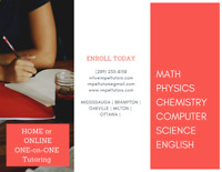 Private 1 on 1  Math tutoring in Mississauga & Brampton