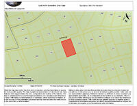1.45 acre lot on Saffron Drive in Irishtown